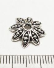 Flower beadcap 14mm x 12